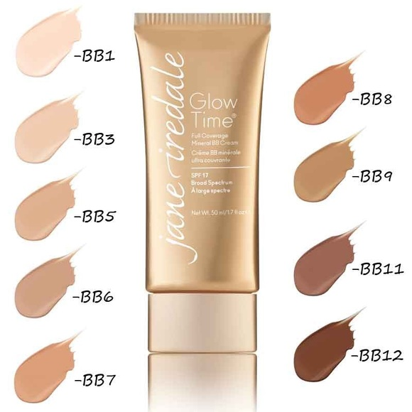 how to wear jane iredale bb glow time